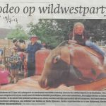algmeen 19 07 2017 wildwestparty in de bosfluiter
