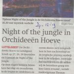 bedrijven 24 12 2019  Night of the jungle in O Hoeve
